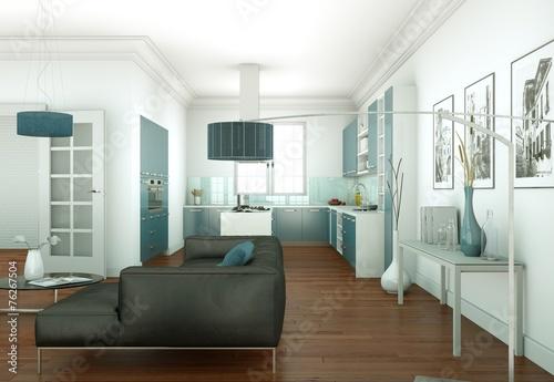 canvas print picture moderne Wohung Interieur Design