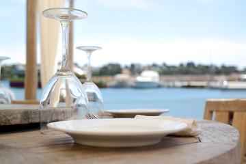 Gedeckter Tisch   Catering   Restaurant   Urlaub