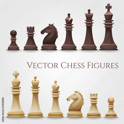 Vector Chess Figures - 76268184