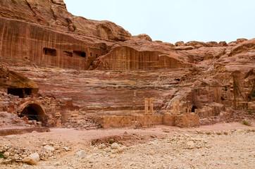 Jordan, Petra, amphitheater