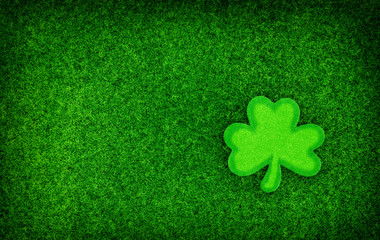 Shamrock Glitter Background