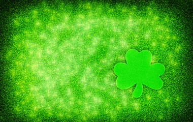 Shamrock Sparkle Background