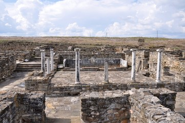 Stobi - an ancient city in Macedonia