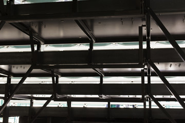 Scaffolding as Safety Equipment on a Construction Site