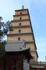 Große Wildgans Pagode von Xian in China