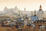 Panorama of old town in Rome, Italy - 76271180