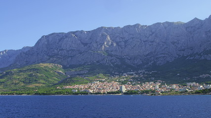 Panorama of Makarska