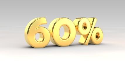60% gold