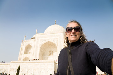 Selfie, Taj Mahal, India