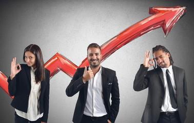 Financial profits of Businessperson