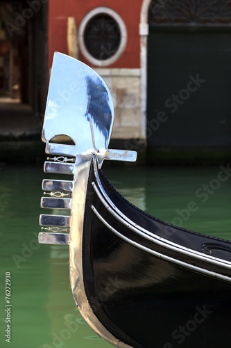 Gondola in Venice city