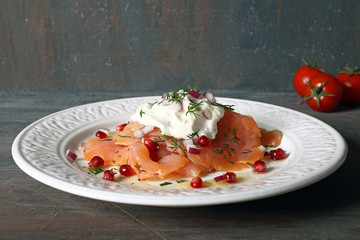 insalata di salmone cucina creativa