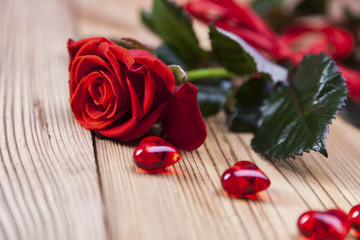 Valentine's Day, the day of lovers! Gifts and passionate red