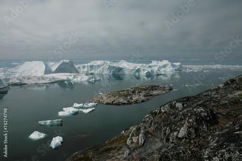 Tuinposter Antarctica 2 Kangiaeisfjord bei Ilulissat