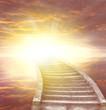 Leinwanddruck Bild - Stairway to heaven