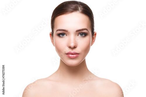 Fototapeta Woman with beautiful face