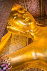 Temple of Reclining Buddha, Bangkok, Thailand.
