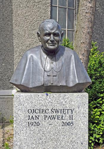 Papst Johannes Paul II., Denkmal in Swinemünde