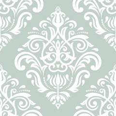 Pattern in the style of Baroque. Abstract Vector Background.