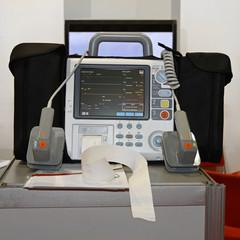 Defibrillator and monitor