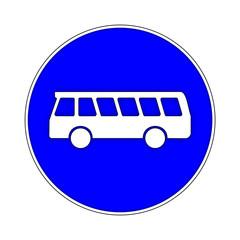Bus Bussonderfahrstreifen