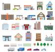 様々な建物 - 76280974