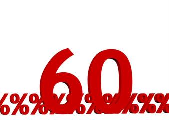 kırmızı renkli % 60