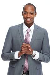 African-American businessman