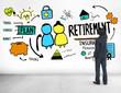 Businessman Retirement Qualification Occupation Concept