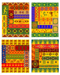 Ethnic patterns in african style
