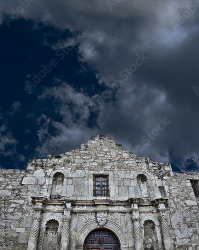 Fotobehang Vestingwerk Alamo in San Antonio,Texas