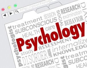 Psychology Website Online Research Mental Health Illness Disorde