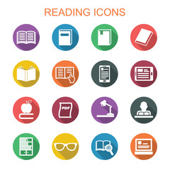 reading long shadow icons