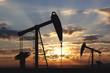 Leinwanddruck Bild - Oil pump