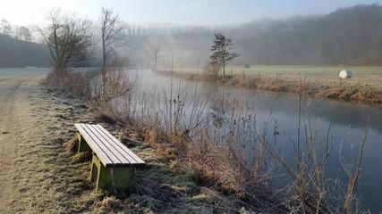 Winter morgens