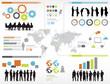 World Social Networking Teamwork Partnership Vector Concept