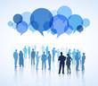 Leinwandbild Motiv Communication Team Teamwork Collaboration Concept
