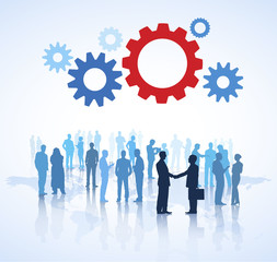 Business Agreement Team Teamwork Collaboration Concept