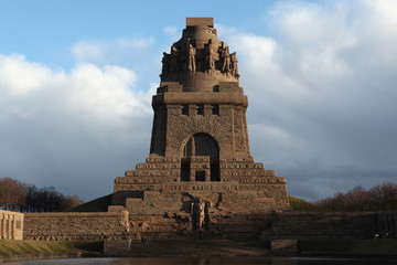Monument to the Battle of the Nations in Leipzig, Germany.
