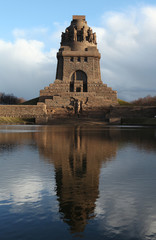 Monument to the Battle of the Nations in Leipzig, Germany