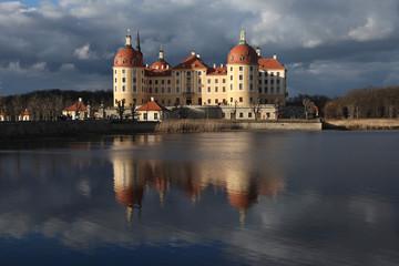 Moritzburg Castle near Dresden, Saxony, Germany.