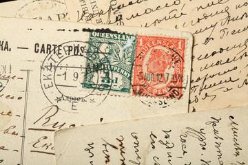 Queen Victoria postage stamps, Australia, Queensland.
