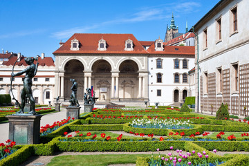 Wallenstein garden and palace (UNESCO), Prague, Czech republic