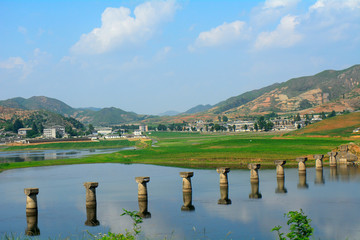 Countryside, North-Korea
