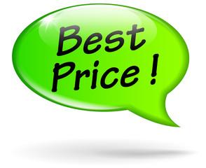 best price green speech