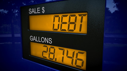 Debt at the gas pump