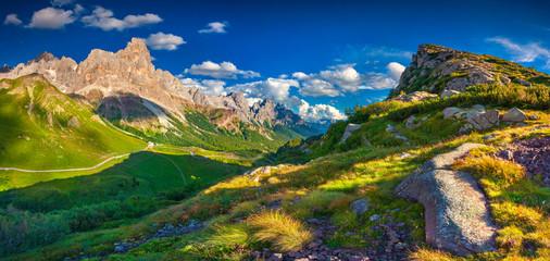 Panoramic views of the Pale di San Martino