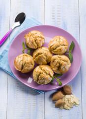 almonds muffins