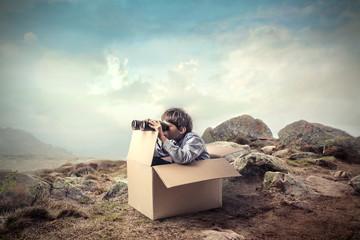 A young explorer