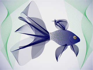 Illustrations fabulous fish